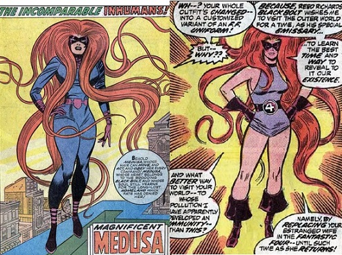 Fantastic Four 132 Medusa Inhumans