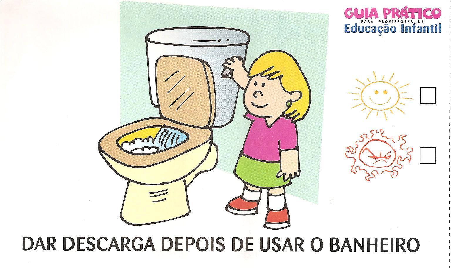 imagens de banheiropara colorir