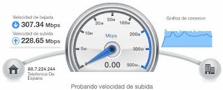 Bienvenido al Test de Velocidad de Movistar