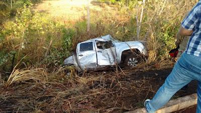 Promotor de Justiça fica gravemente ferido em acidente no Maranhão