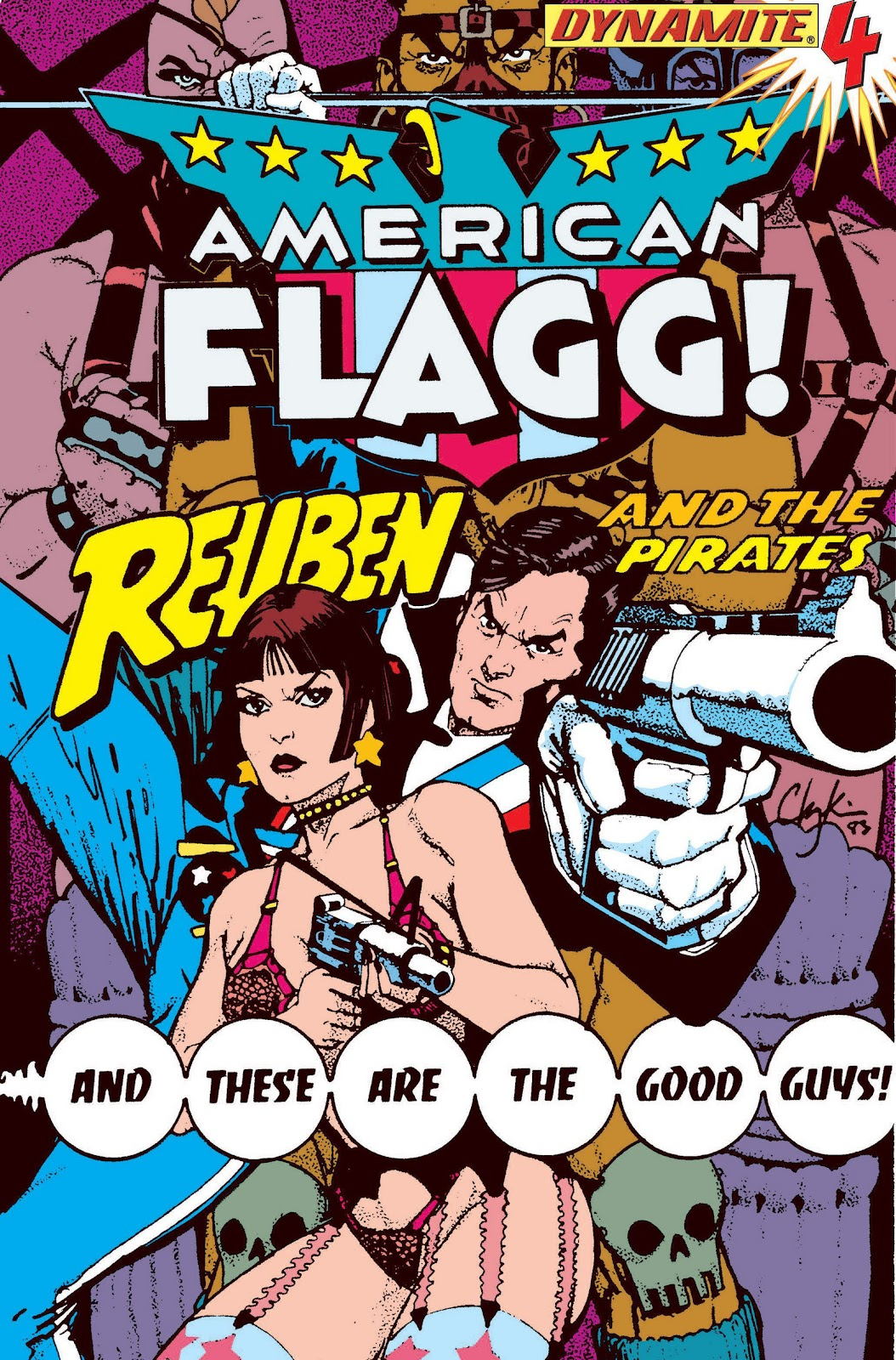 American Flagg! issue Definitive Collection (Part 2) - Page 13