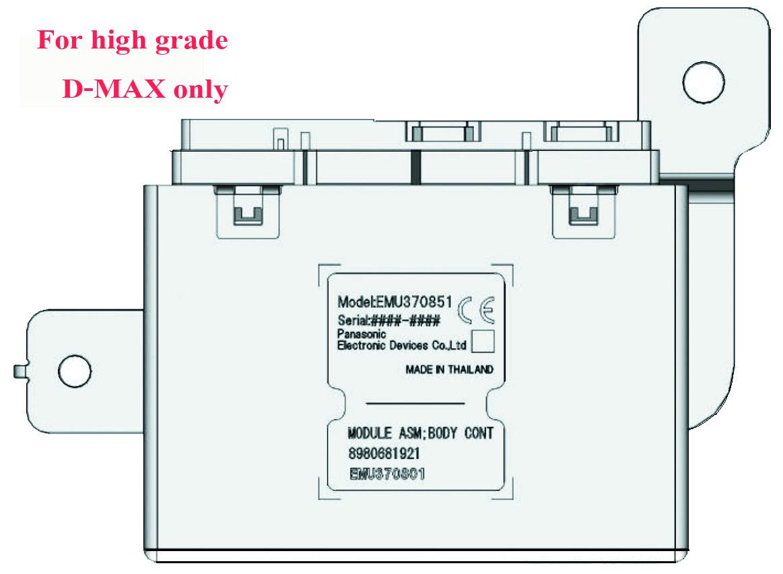 Technic Auto Car Isuzu D Max Body Control Module