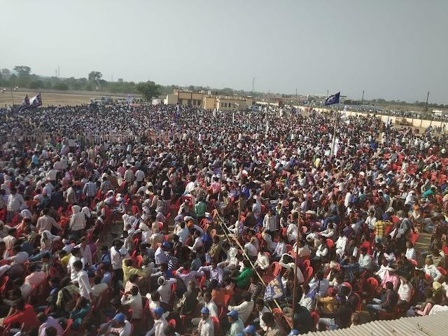 पथरिया में बसपा सुप्रीमो मायावती की आम सभा में.. उमड़ी भारी भीड़ ने भाजपा कांग्रेस प्रत्याशियों की चिंता बढ़ाई..