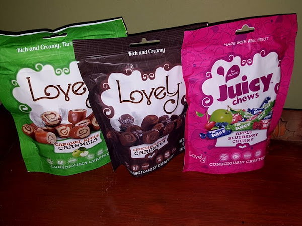 Give Dad the Gift of Guilt-Free Sweets this Father's Day: Lovely Candy Co. + Candy #Giveaway