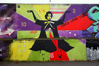 Sunday Street Art : FKDL - Ourcq Living Colors - rue Germaine Tailleferre - Paris 19