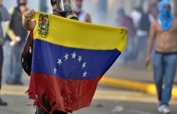 Manifestación ante crisis en Venezuela