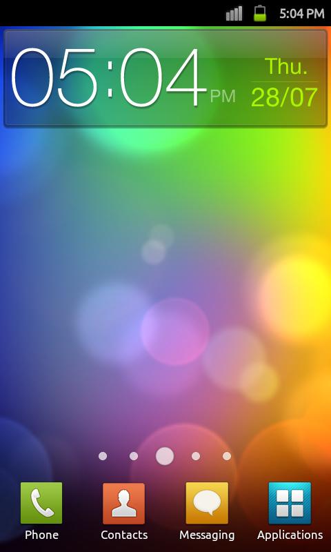 Kiarichiki Themes: HTC Sense LiveWallpaper