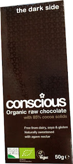 Conscious Organic raw dark chocolate