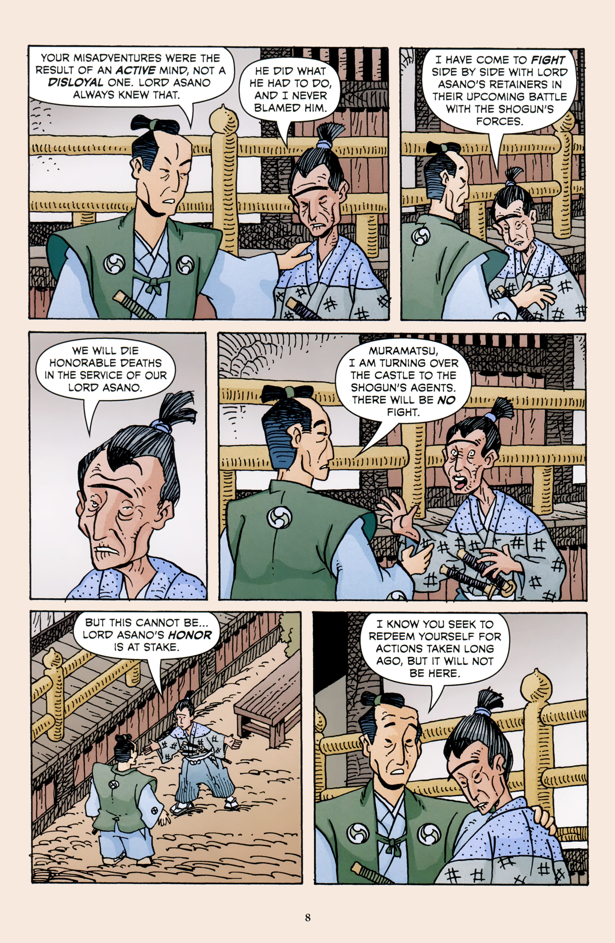 Read online 47 Ronin comic -  Issue #3 - 10