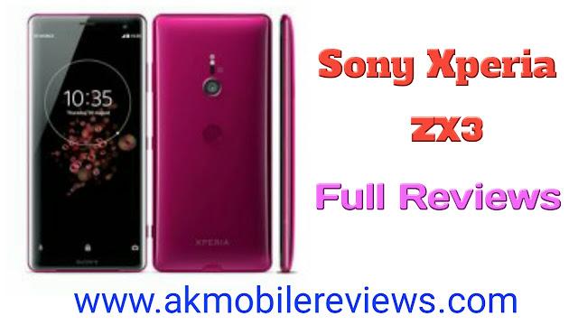 Sony Xperia XZ3 Full Review In Hindi