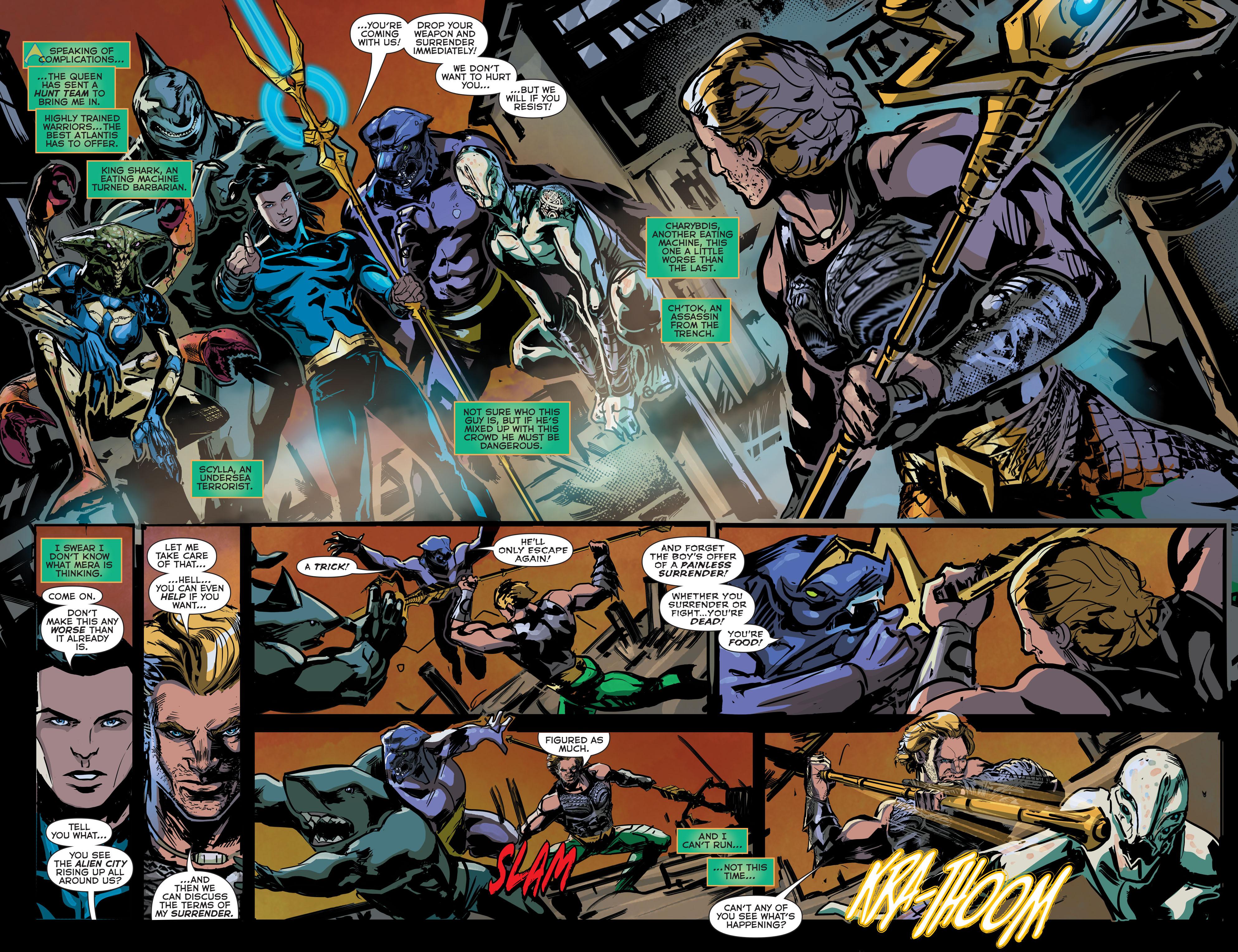 Read online Aquaman (2011) comic -  Issue #42 - 16