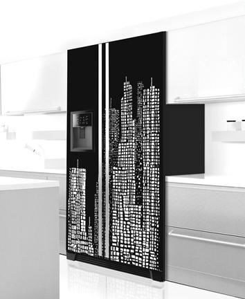 frigo moderne. Black Bedroom Furniture Sets. Home Design Ideas