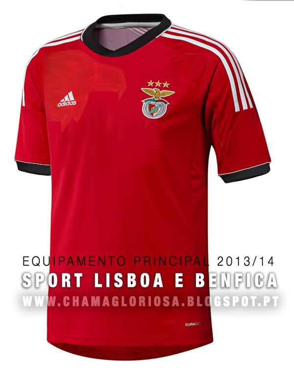 Equipamento Principal Época 2013 2014. - Novo Blog Geração Benfica 752a7cd869f88