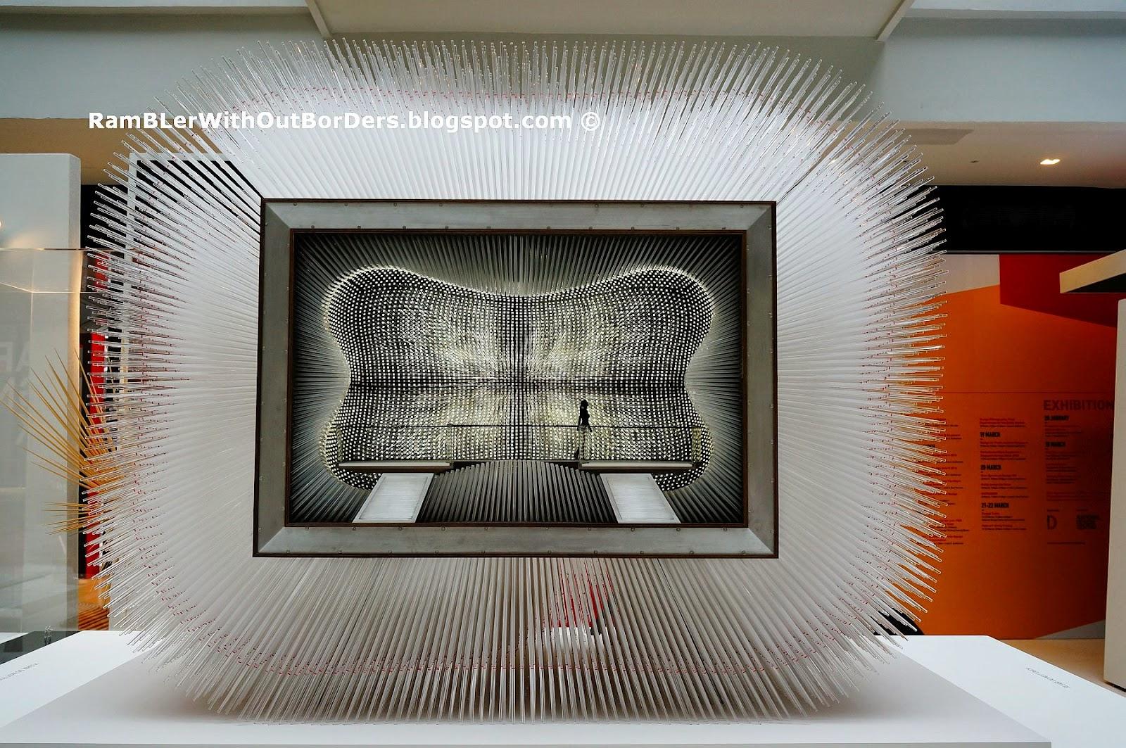 Interior, Model of UK Pavilion, Shanghai Expo 2010, Heatherwick Studio, Singapore