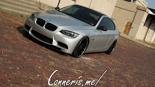 BMW 335i E92 front angle brick 2
