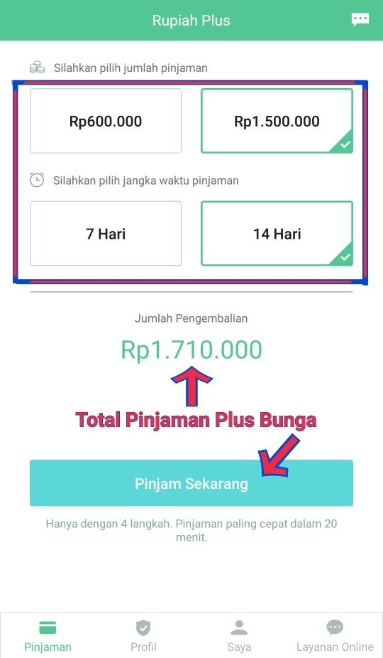 Pinjam Uang Online Lebih Cepat Di RupiahPlus - PGSJ ONLINE