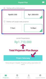 Ajukan Dana Pinjaman Uang di Aplikasi RupiahPlus mudah cepat dan aman