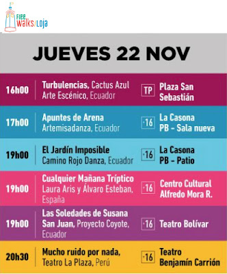 Arts Festival Thursday November 22th Loja Ecuador