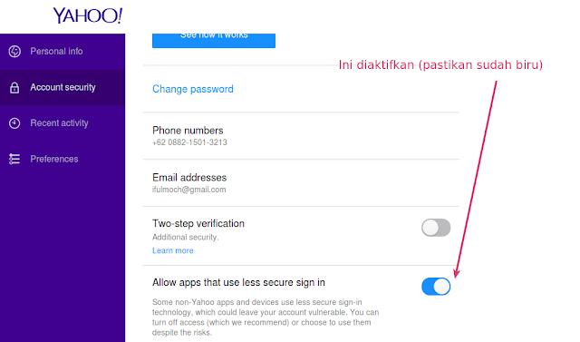 Cara Setting Yahoo Mail dengan Thunderbird mengelola email dengan thunderbird