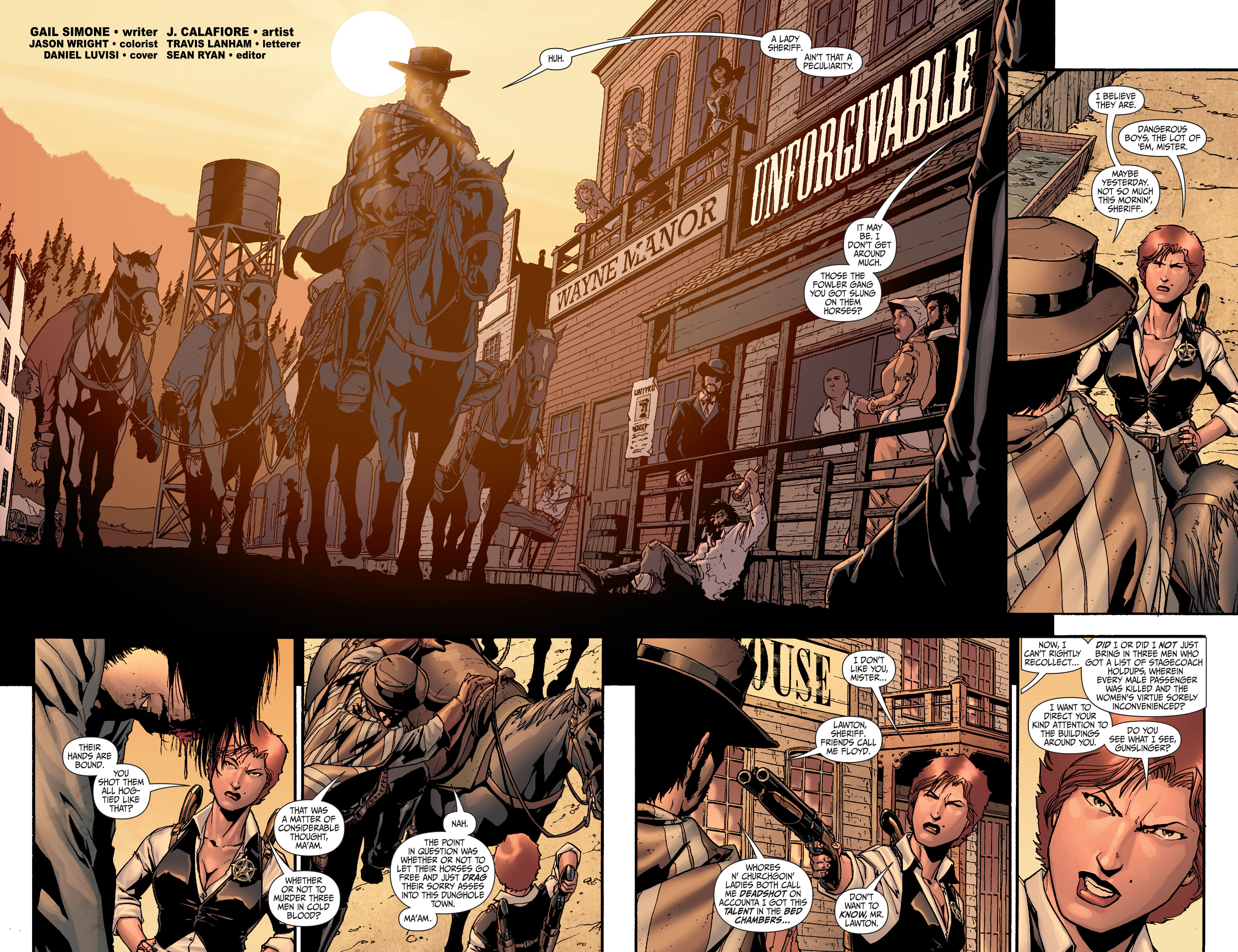 Read online Secret Six (2008) comic -  Issue #24 - 3
