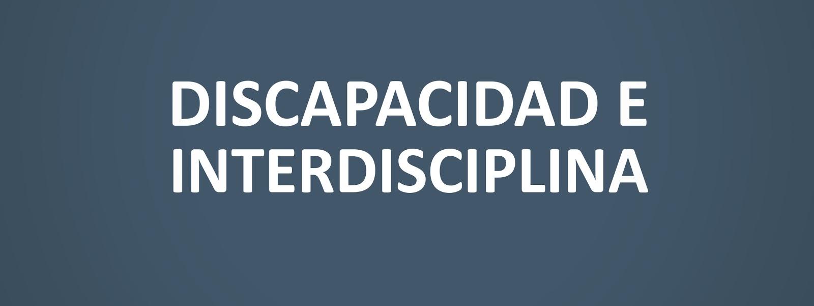 Curso discapacidad e interdisciplina