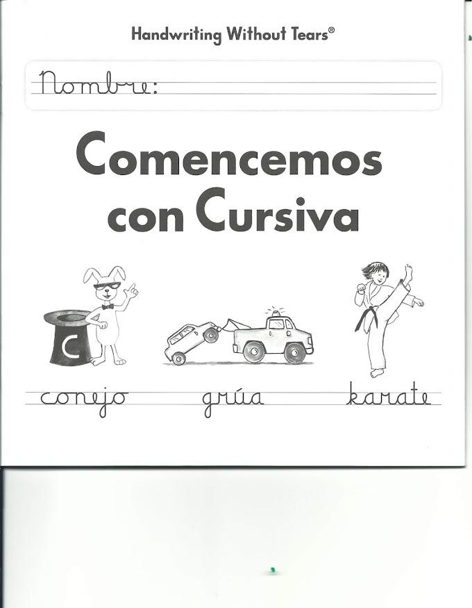 Comencemos con Cursiva.