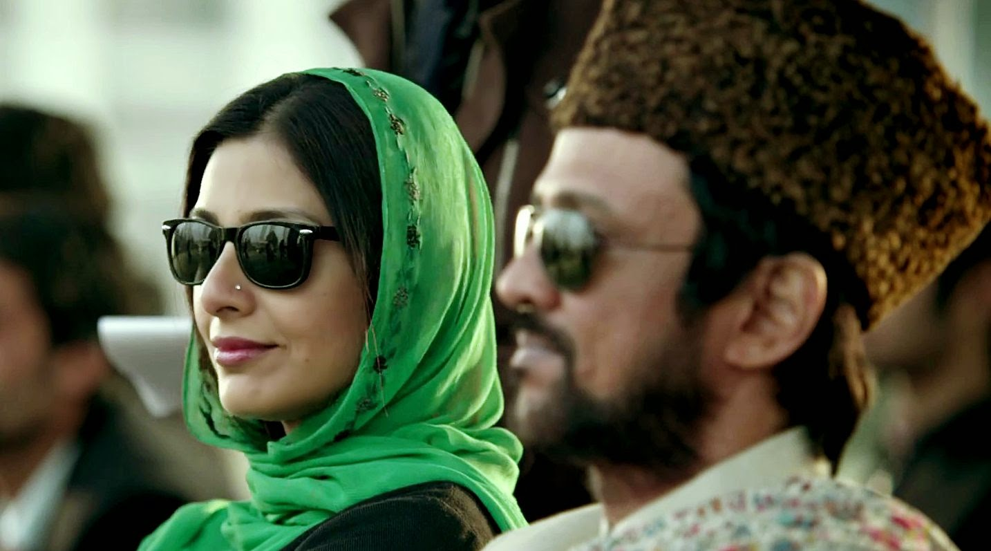 Tabu and Kay Kay Menon, in Haider, based on Claudius and Gertrude, Directed by Vishal Bhardwaj