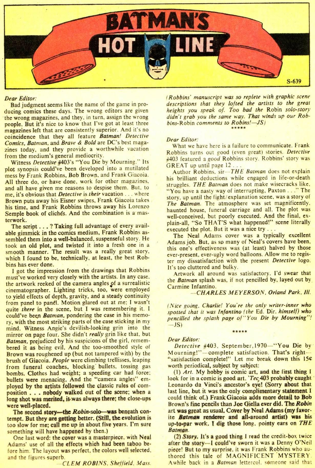 Detective Comics (1937) 407 Page 31