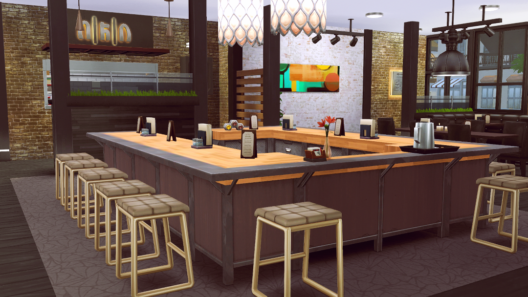 My Sims 4 Blog Nine East Eatery Amp Bar No CC By Jenba