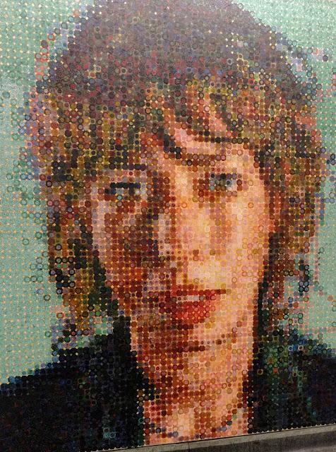 """Чак Клоуз. """"Портрети метро"""". Станція метро """"86th Street"""". Нью-Йорк (Chuck Close.""""Subway Portraits"""". 86th Street station. NYC)"""