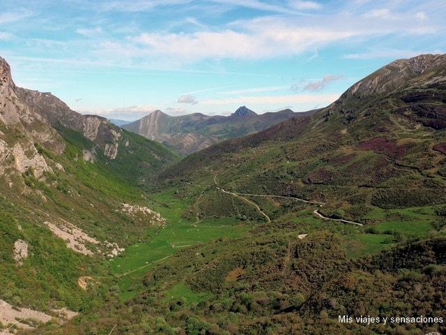 Valle de Saliencia en el Parque Natural de Somiedo, Asturias