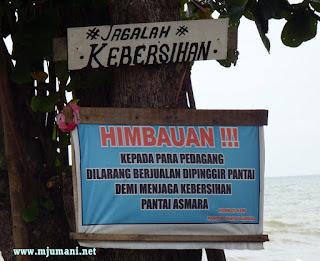 Objek wisata pantai Kalimantan Selatan