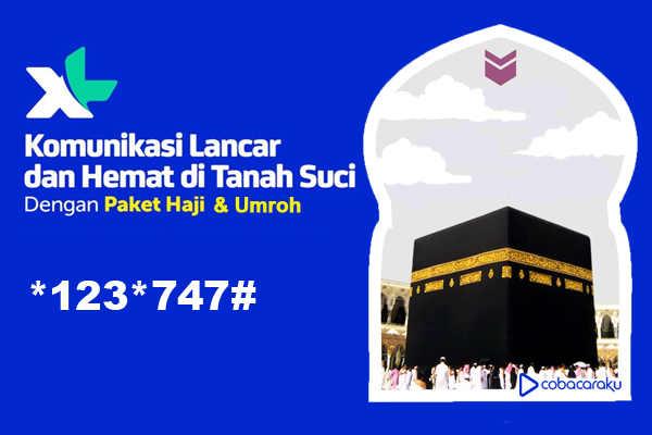 Daftar Paket Internet dan Nelpon XL bagi jamaah Haji dan Umroh  Cara Daftar Paket Internet, Nelpon, Haji dan Umroh XL 2018