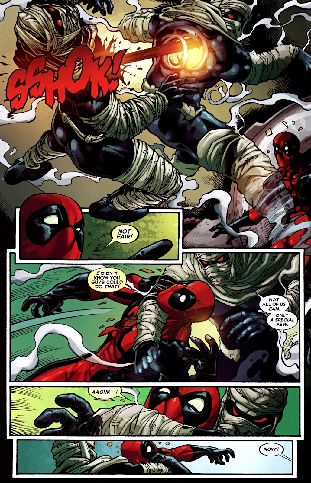 Read online Deadpool (2008) comic -  Issue #31 - 20