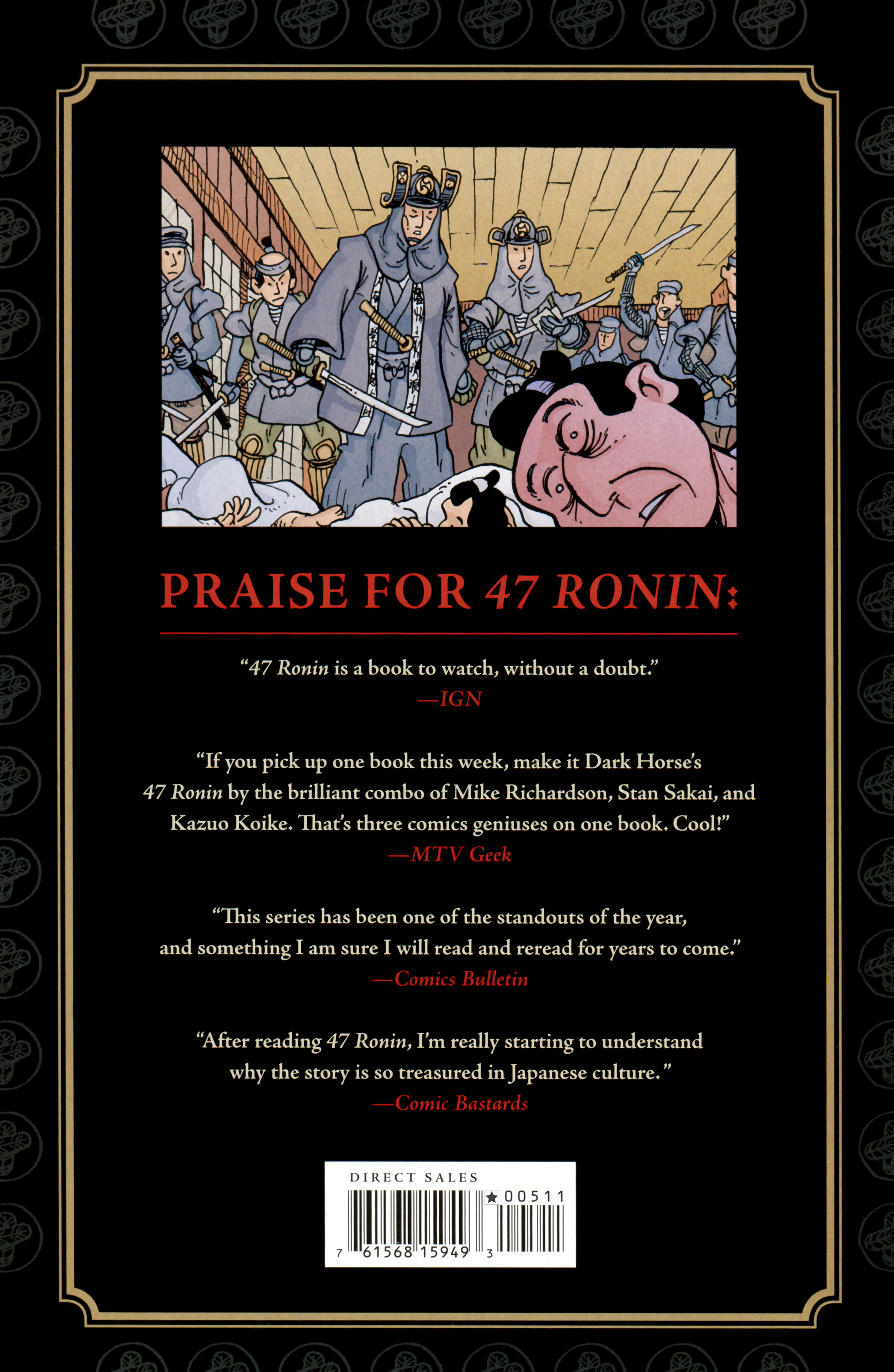 Read online 47 Ronin comic -  Issue #5 - 40