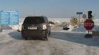 route de glace, Estonie