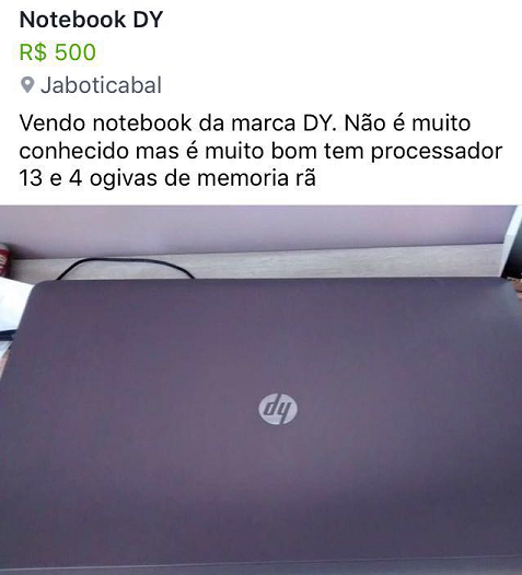 vendo notebook dy
