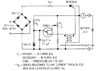 Best Battery Charger Circuit Diagram