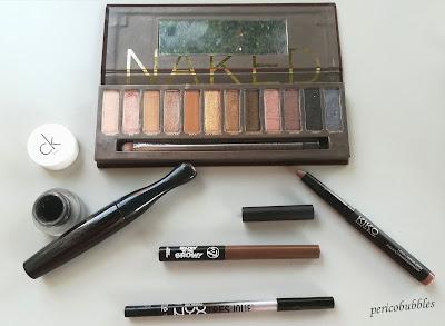 Maquillaje espejo - Ojos