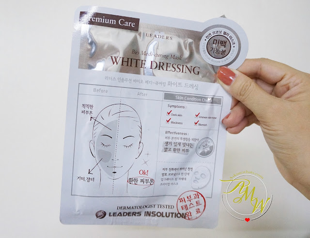 a photo of Leaders Insolution Premium Care Bio Medi-curing Mask White Dressing Review
