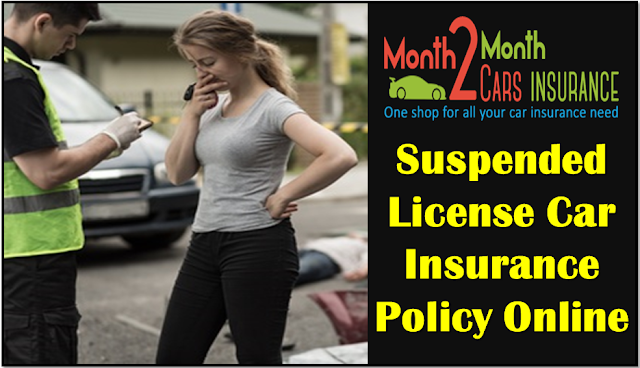 Car Insurance Quotes with Suspended License Online