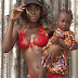 MPNAIJA GIST:Beverly Osu celebrates International Women's Day with a sexy lingerie photo of herself carrying a child