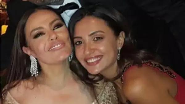 شريهان تتألق في حفل زفاف بأسوان