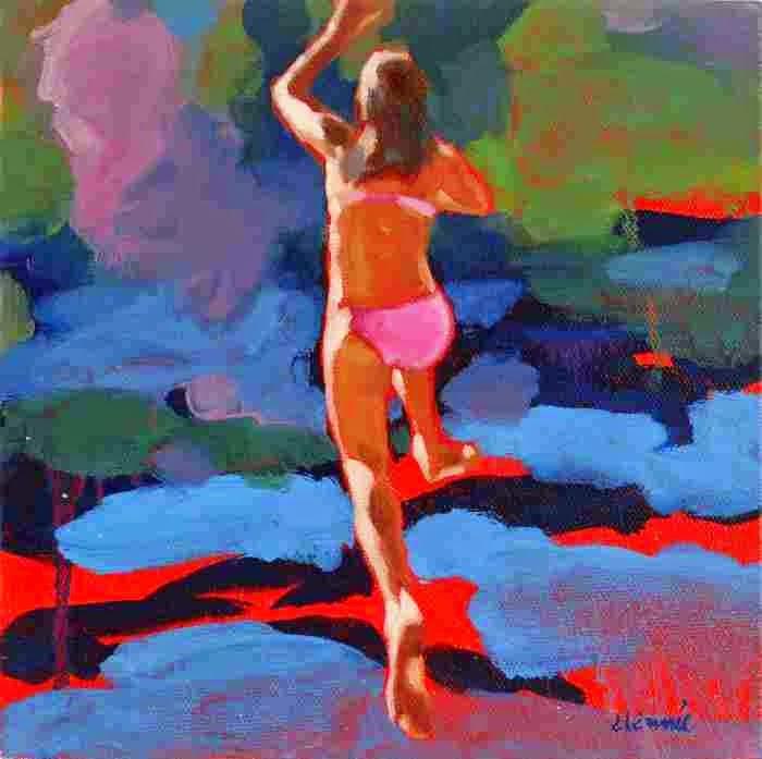 Канадская художница. Elizabeth Lennie