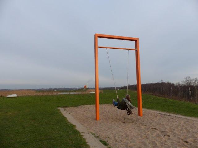 Lippepark Hamm Schaukeln Schacht Franz Nord Ruhrgebiet Ausflug Hunderunde