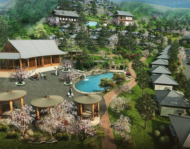 Kiến trúc đẹp Ohara Villa