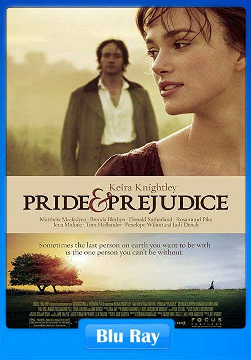 Pride and Prejudice 2005 720p BluRay Dual Audio x264 | 480p 300MB | 100MB HEVC Poster