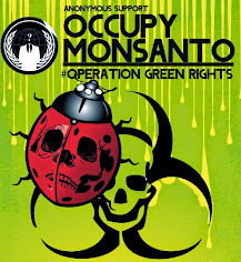 Anonymous support #OccupyMonsanto