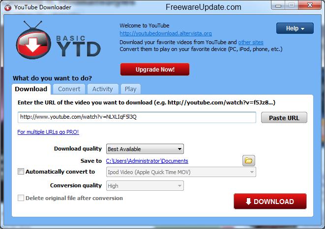 d for downloader تحميل