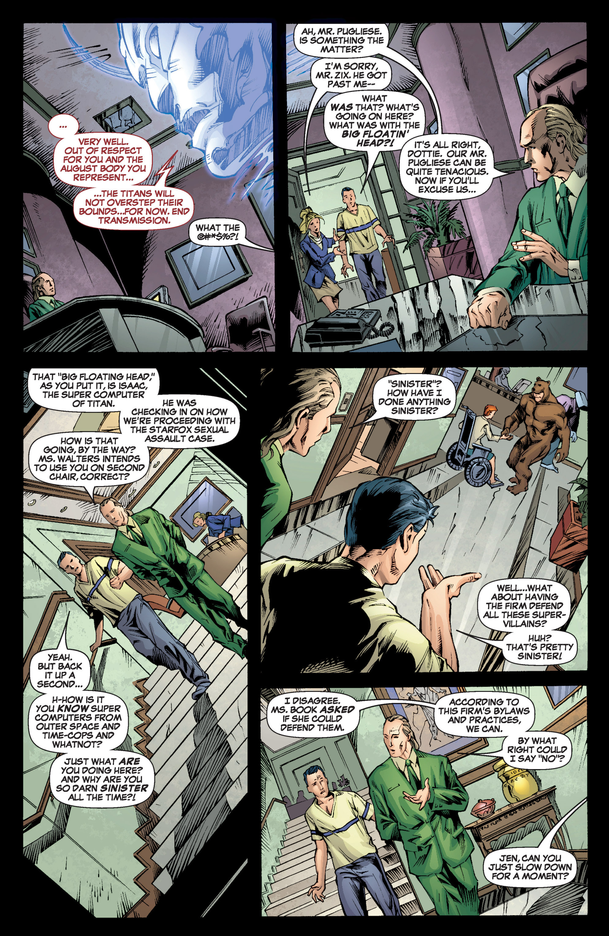 Read online She-Hulk (2005) comic -  Issue #6 - 15